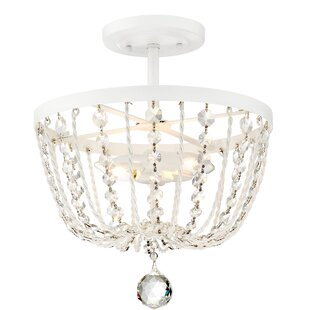 House of Hampton Hambleton 2-Light Semi Flush Mount