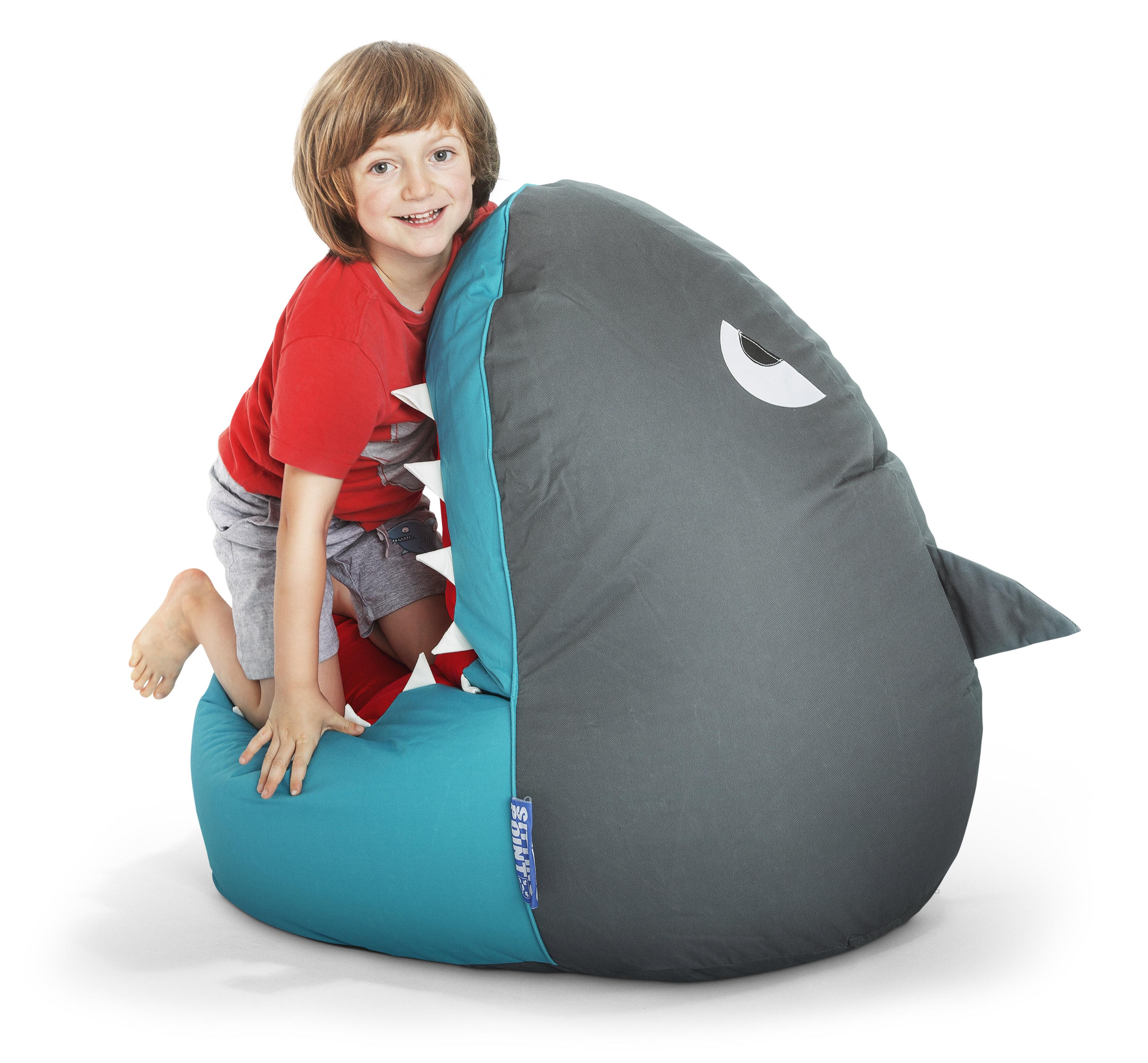 Surprising Shark Large Bean Bag Chair Machost Co Dining Chair Design Ideas Machostcouk