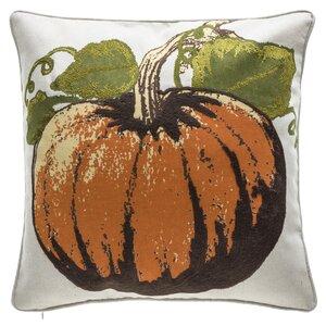 Fall Pumpkin Throw Pillow