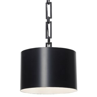 Brayden Studio Luff 1-Light Drum Pendant