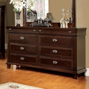 Hokku Designs Tolsi 6 Drawer Double Dresser