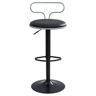 Jasvinder Adjustable Height Swivel Bar Stool by Orren Ellis 2019 Coupon