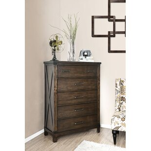 Loon Peak Daramanivong 5 Drawer Chest