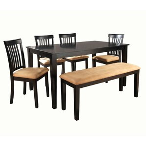 Oneill 6 Piece Upholstered Dining Set by Andover..