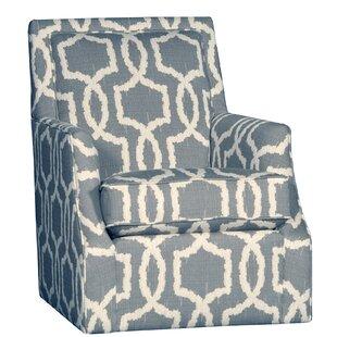 Cruse Swivel Club Chair by Dar by Home Co