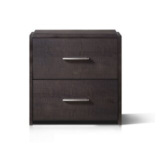 Ripley 2 Drawer Nightstand by Resource Decor