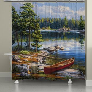 Water Bay Shower Curtain