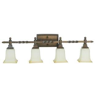 Guide to buy Oakwood 4-Light Vanity Light ByAstoria Grand