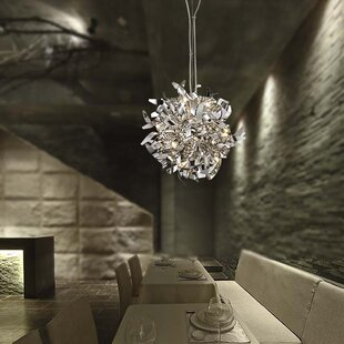 Orren Ellis Hearns 15-Light Globe Chandelier