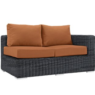 Brayden Studio Keiran Loveseat with Cushions
