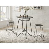 Farkas 3 Piece Counter Height Dining Set by Gracie Oaks