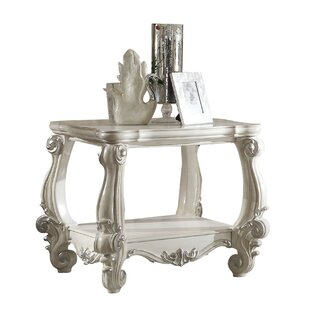 Genesis Bottom Shelf Wooden End Table