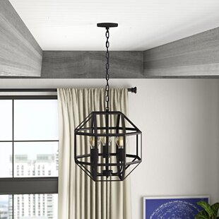 Mullican 3-Light Geometric Chandelier by Williston Forge