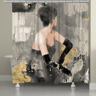 Castello Evening Chic Single Shower Curtain