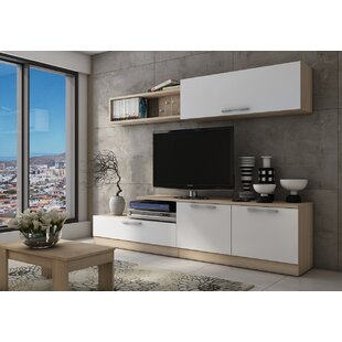 Anciaux TV Wall Unit Entertainment Center for TVs up to 60