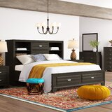 Cloe Wood 6 Piece Bedroom Set by Red Barrel Studio