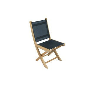 Pyle Folding Teak Patio Dining Chair