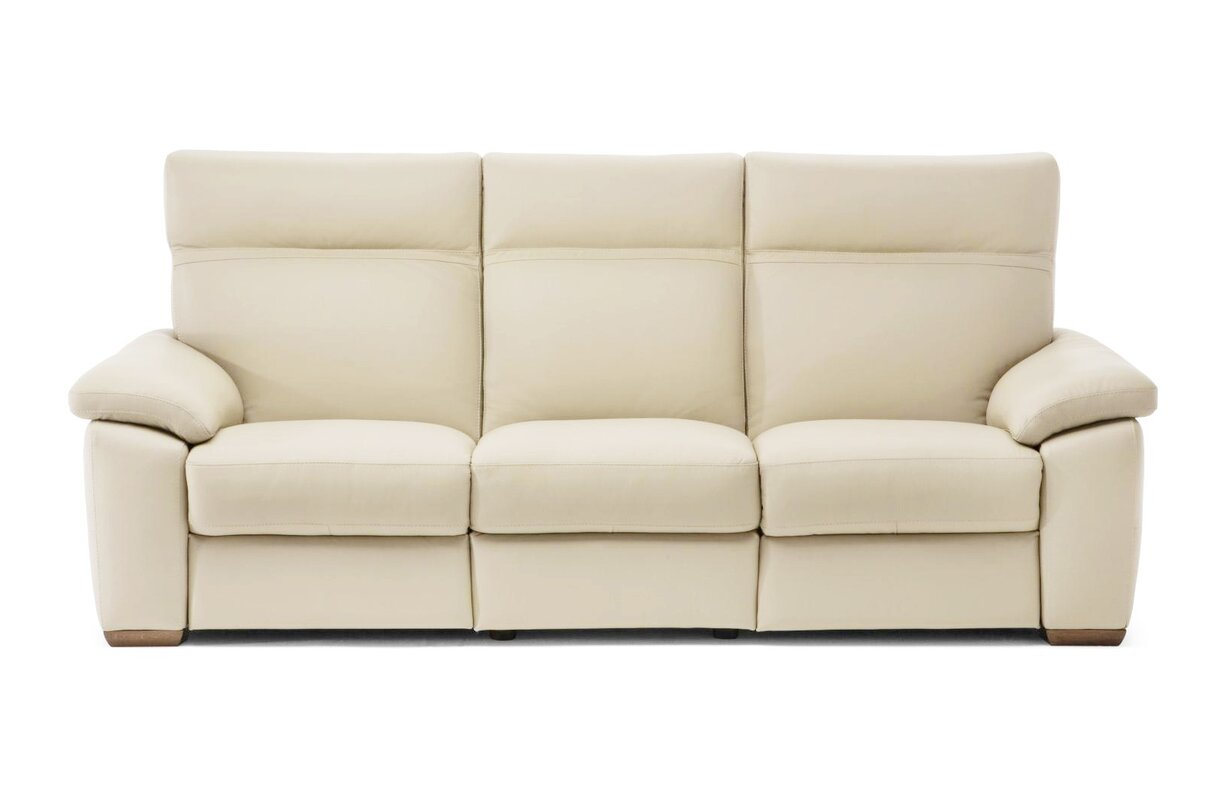 Lapo Power Leather Reclining Sofa