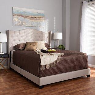 Lucky Upholstered Panel Bed by Mercer41