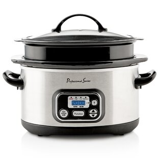 Continental Electric 6 Qt. Digital Slow Cooker