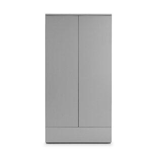Delphinus 2 Door Wardrobe By Mercury Row