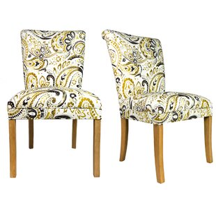 Roll Back Spring Upholstered Side Chair (..