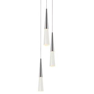 Spire 3-Light Pendant by Sonneman