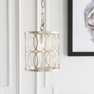 Mercer41 Attridge Transitional 1-Light Drum Pendant