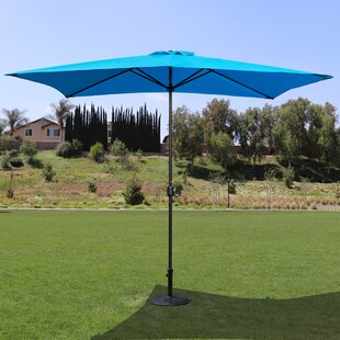 Cambridgeshire 10' x 6' Rectangle Market Umbrella