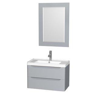 Bargain Murano 30 Single Gray Bathroom Vanity Set with Mirror ByWyndham Collection