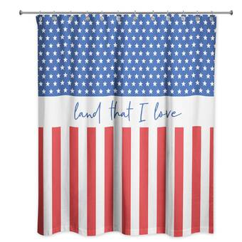The Holiday Aisle Donatienne Patchwork Single Shower Curtain Wayfair