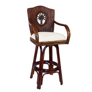 Lucaya 24 Swivel Counter Stool Hospitality Rattan