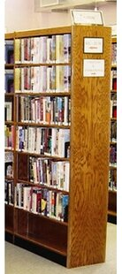 Double Face Standard Bookcase By W.C. Heller