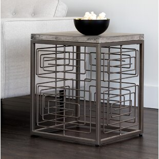 Solterra End Table by Sunpan Modern
