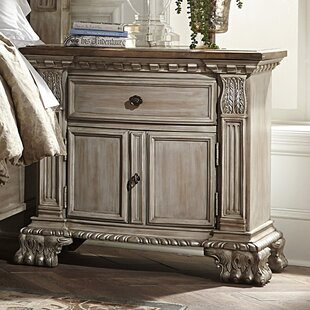 Chirk 1 Drawer Nightstand by Astoria Grand