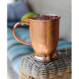 16 oz Copper Mug With Base