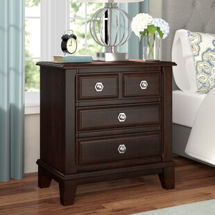 Daleville 4 Drawer Nightstand by Darby Home Co