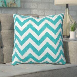 bollin chevron 100 cotton throw pillow - Sunbrella Outdoor Pillows