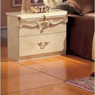 Alexzander 2 Drawer Nightstand by Astoria Grand