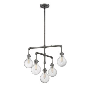 17 Stories Estrela 5-Light Candle Style Chandelier