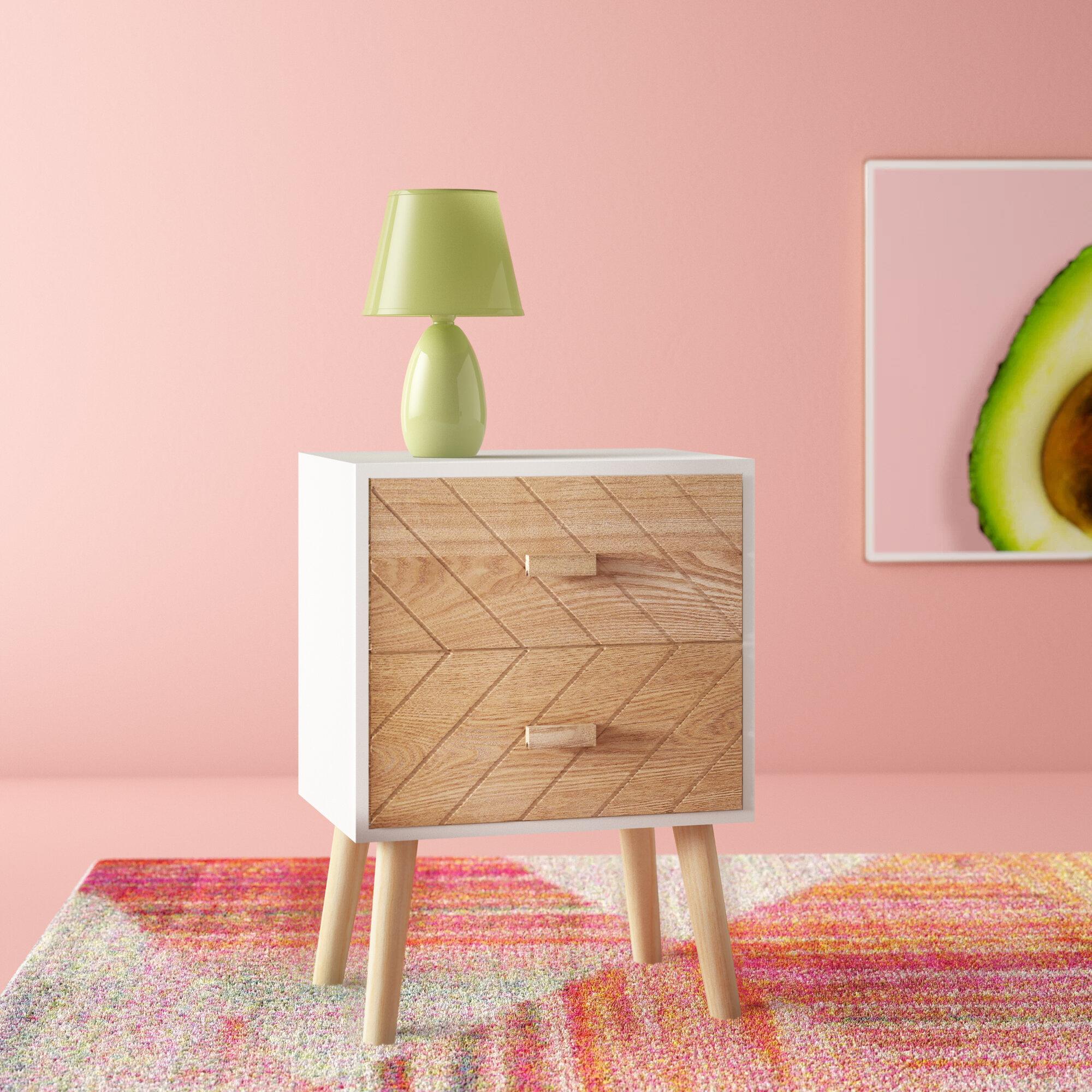 Light Wood Bedside Tables You Ll Love Wayfair Co Uk