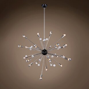 Orren Ellis Digrazia Starburst 24-Light Chandelier