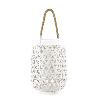 Shop For Round Bamboo Lantern By Bungalow Rose