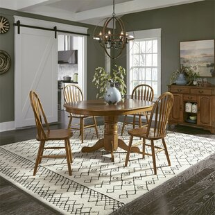 Acadian 5 Piece Dining Set Alcott Hill