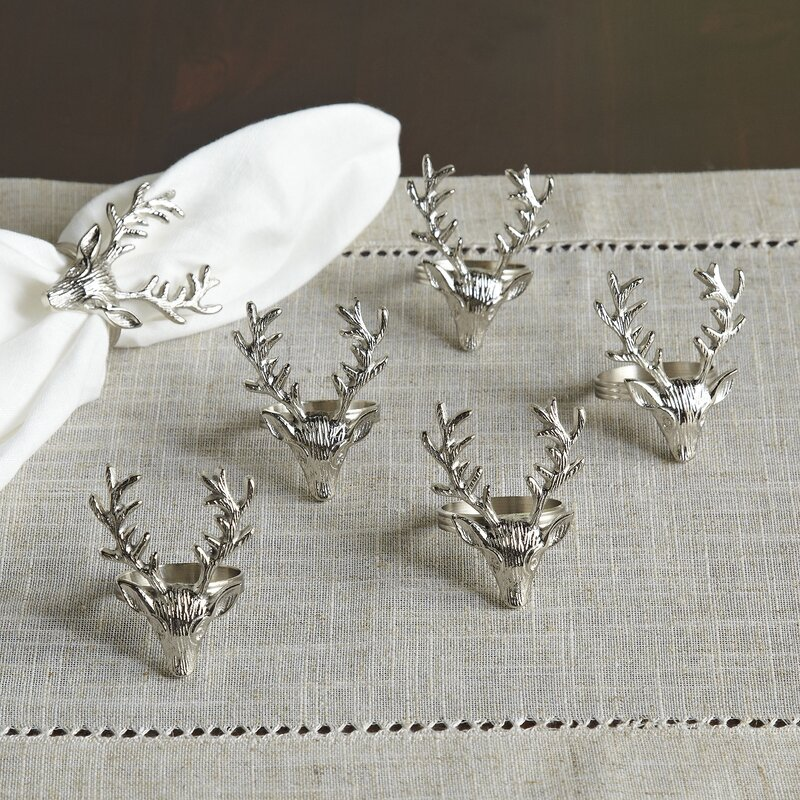 Stag Napkin Rings