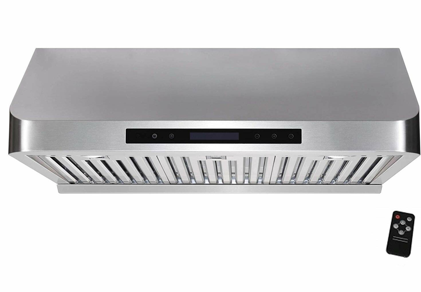 Awoco 30 Supreme 1000 Cfm Ducted Under Cabinet Range Hood In Stainless Steel With Remote Control Included Reviews Wayfair