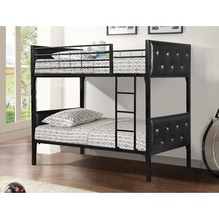 Carriage Twin over Twin Bunk Configurations Bed by Zoomie Kids