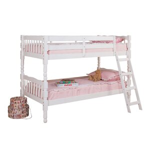 Harriet Bee Curtiss Twin Over Twin Bunk Bed