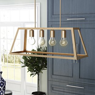 Low priced Chastain 4-Light Kitchen Island Pendant By Ivy Bronx