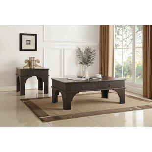 Andrew Home Studio Karol 2 Piece Coffee Table Set